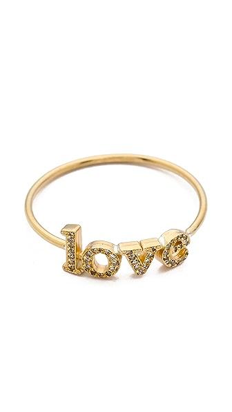 Jennifer Meyer Jewelry Diamond Love Ring