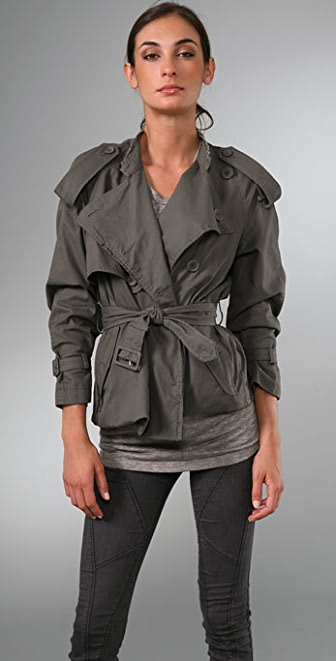 JNBY Adventure Short Trench Coat