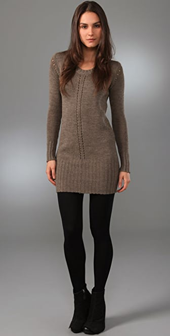 JNBY Elegant Rock Sweater Tunic
