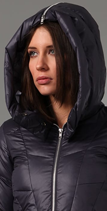 JNBY Short Hooded Puffer Jacket