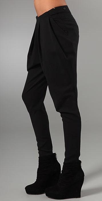 JNBY Pleated Wool Pants