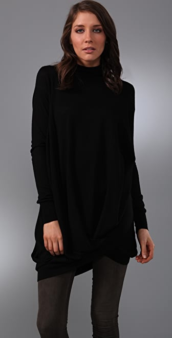 JNBY Drape Turtleneck Sweater