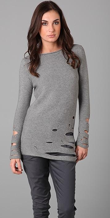 JNBY Cutout Tunic Sweater