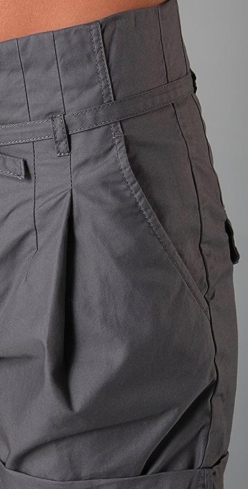 JNBY Paper Bag Waist Shorts