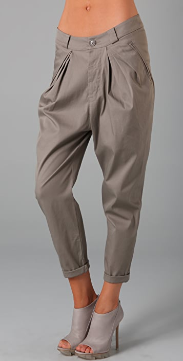 JNBY Rolled Ankle Pants