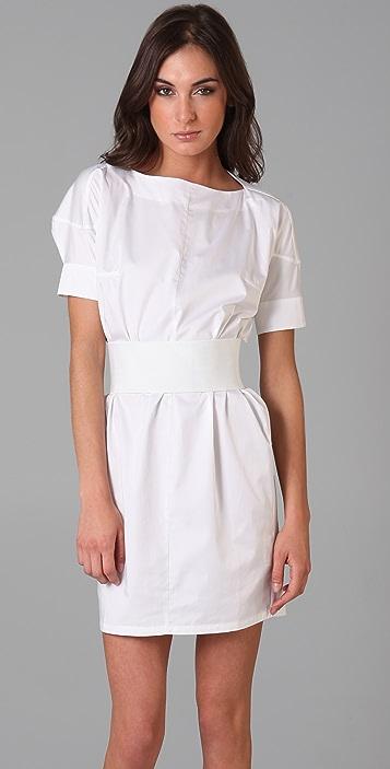 JNBY Short Sleeve Poplin Dress