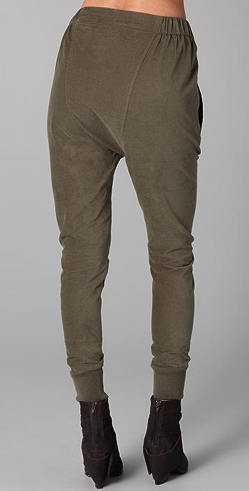 JNBY Corduroy Harem Pants