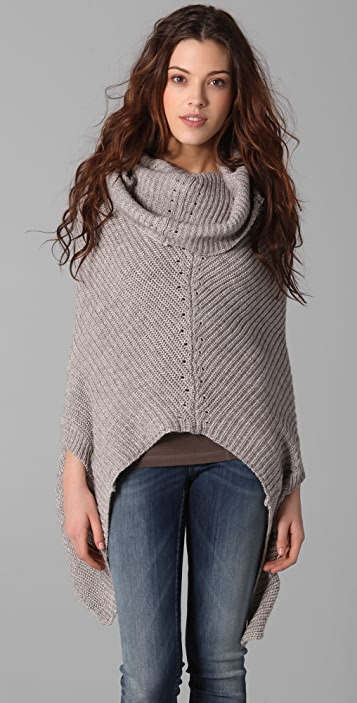 JNBY Convertible Poncho Sweater