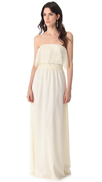 Joanna August State Street Lace Gown