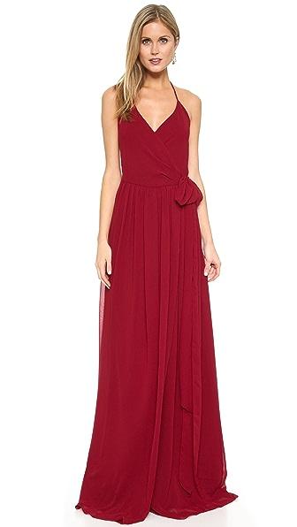 Joanna August DC Halter Wrap Dress