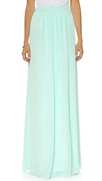 Joanna August Whitney Wrap Maxi Skirt