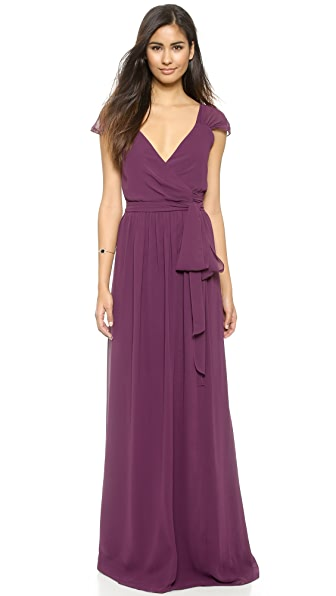 Joanna August Newbury Cap Sleeve Dress