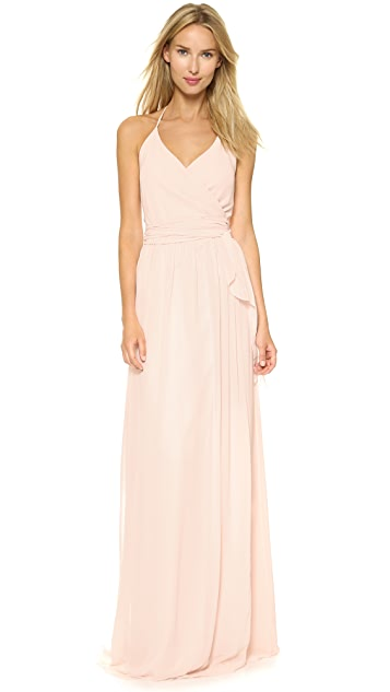 Joanna august dc halter wrap dress shopbop for Wedding dress shops in dc