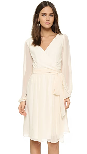 Joanna August Holly Long Sleeve Wrap Dress - Going To The Chapel