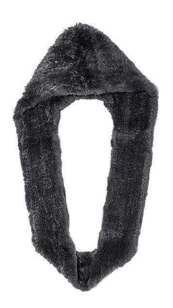 Jocelyn Hood Fur Infinity Scarf