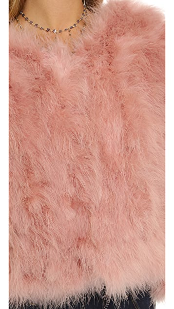 Jocelyn Feather Jacket