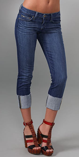 Joe's Jeans Raw Cuff Kicker Jeans
