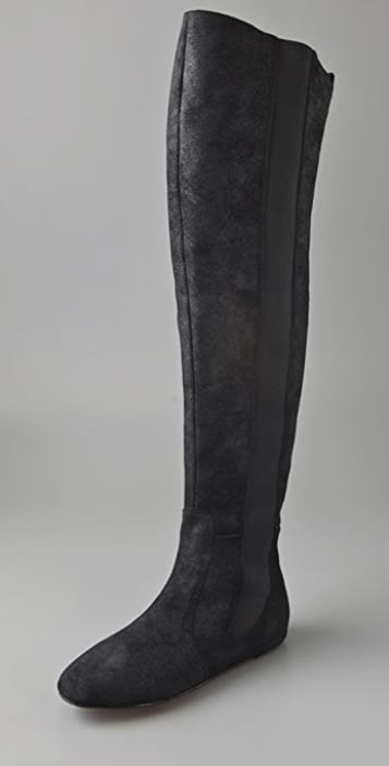 Joe's Jeans Nanny Suede Over the Knee Boots