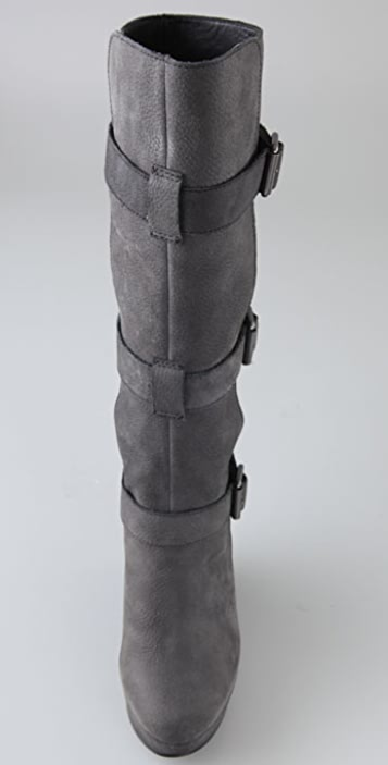Joe's Jeans Uncaged Buckled Platform Boots
