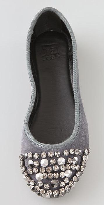 Joe's Jeans Sienna II Suede Flats