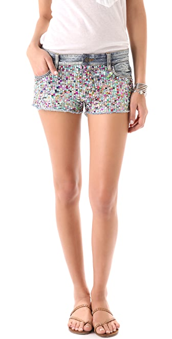 Joe's Jeans 2'' Cut Off Sequin Shorts