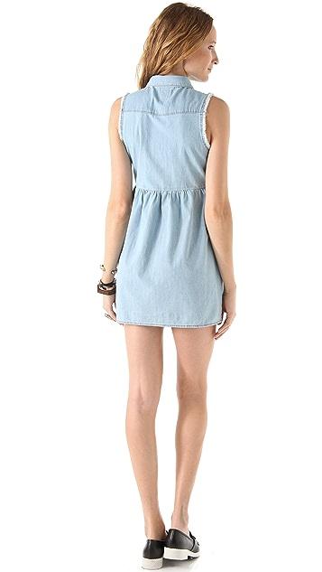 Joe's Jeans Sleeveless Babydoll Dress