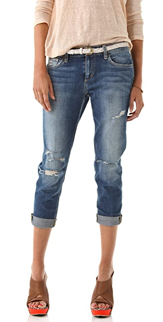 Joe's Jeans Destroyed Easy Fit Cropped Jeans