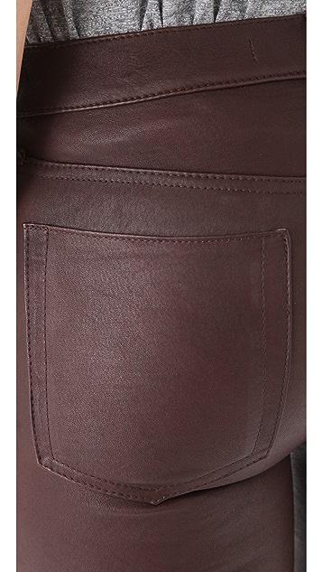 Joe's Jeans The Skinny Leather Pants