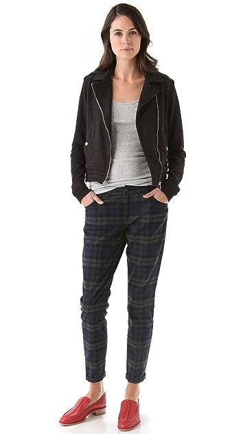 Joe's Jeans The Plaid Skinny Pants