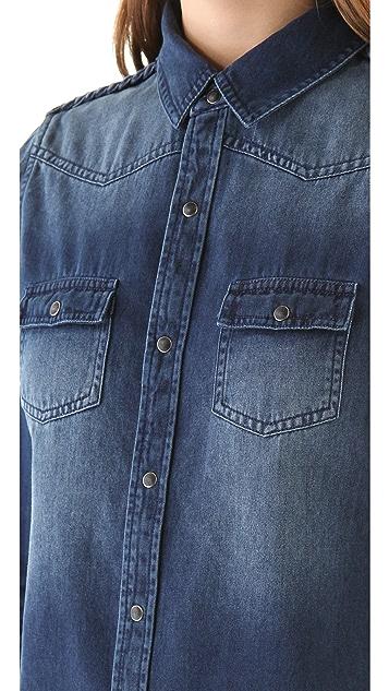 Joe's Jeans Sexy Braided Western Shirt