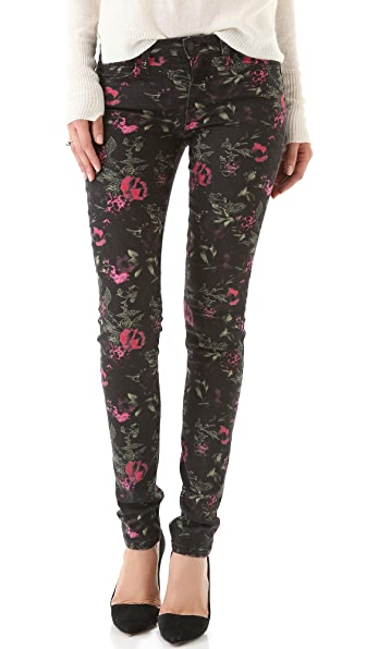 Joe's Jeans The Skinny Electric Floral Jeans