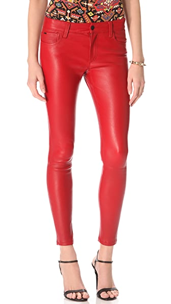 Joe's Jeans Skinny Leather Pants