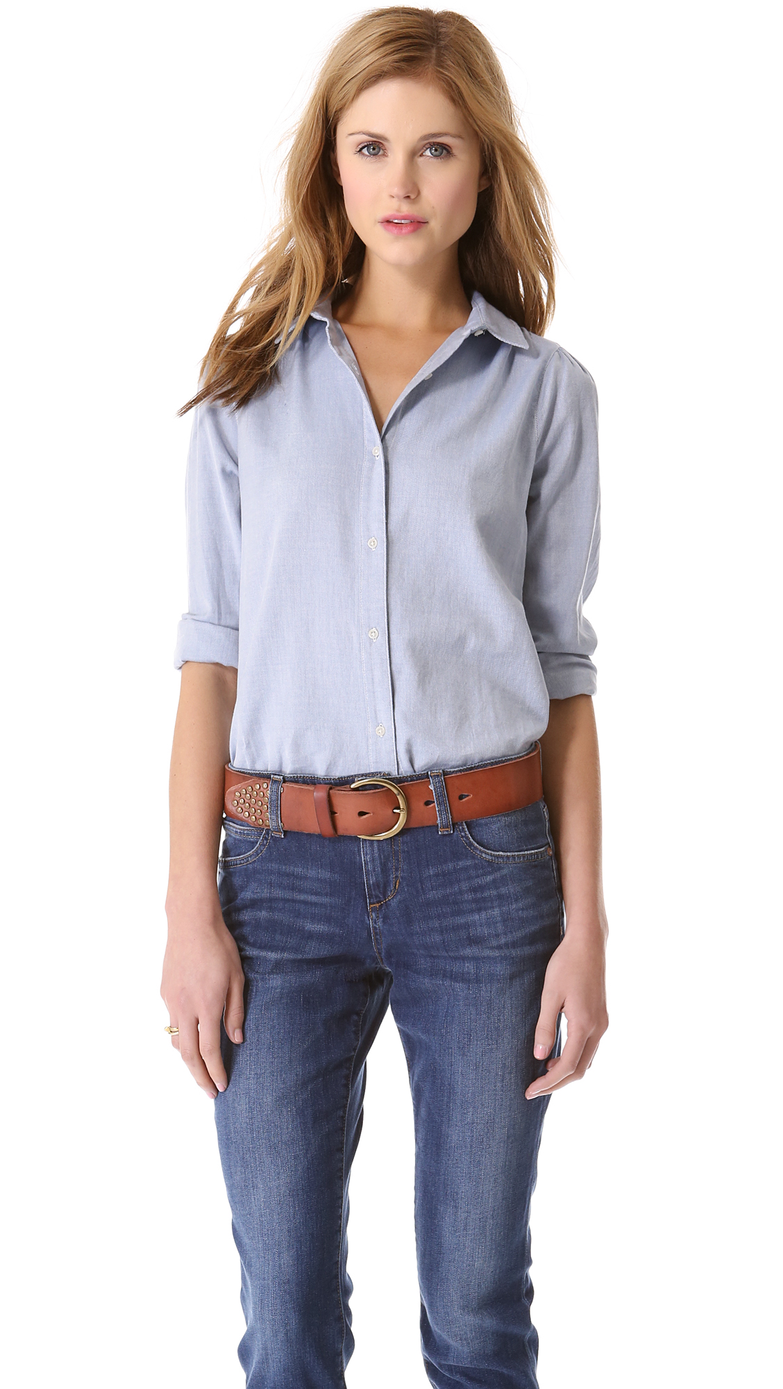 84fed9b6 How To Make A Button Down Shirt Look Feminine – EDGE Engineering and ...