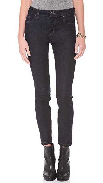 Joe's Jeans High Rise Straight Ankle Jeans