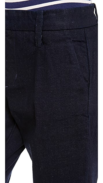 Joe's Jeans Ankle Trouser Straight Leg Jeans