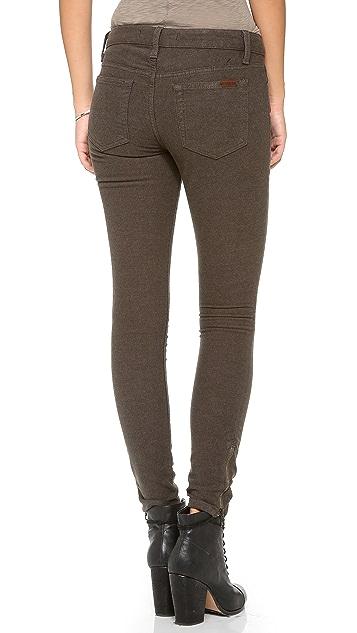 Joe's Jeans Exposed Zip Skinny Pants