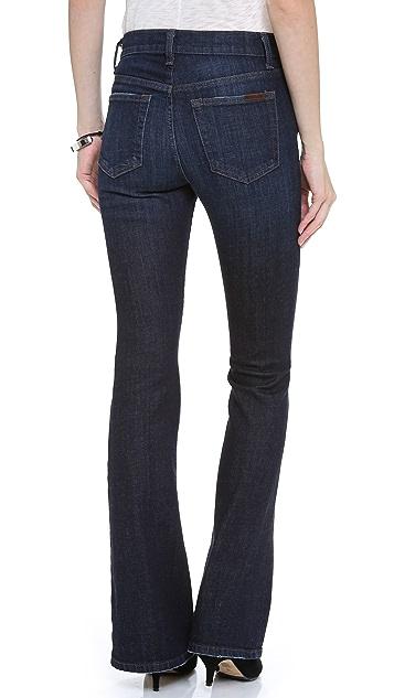 Joe's Jeans High Rise Skinny Flare Jeans