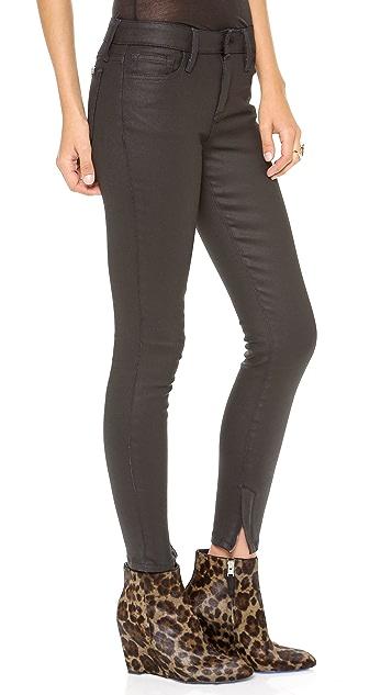Joe's Jeans Zip Skinny Ankle Jeans