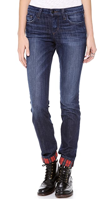 Joe's Jeans Classic Rolled Straight Ankle Jeans