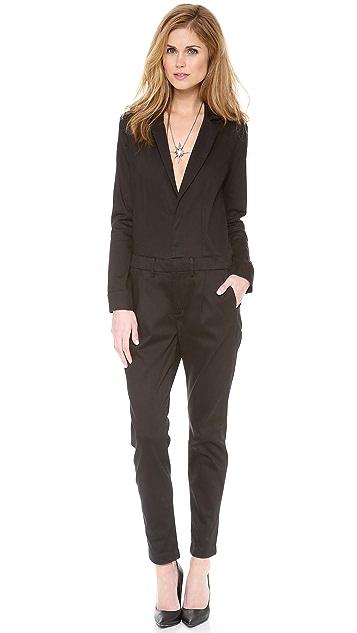 Joe's Jeans Super Chic Suit Jumpsuit
