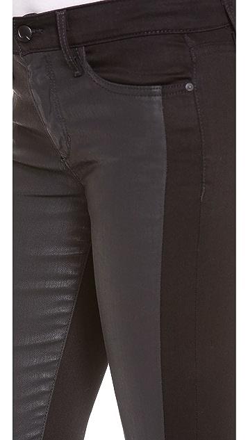 Joe's Jeans Contrast Tux Coated Jeans