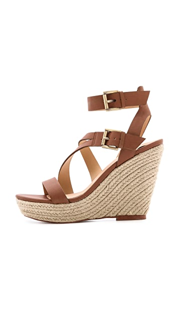Joe's Jeans Mckayla Espadrille Wedge Sandals