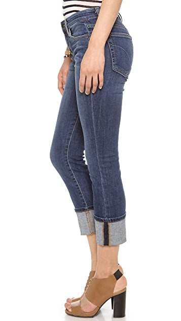 Joe's Jeans Clean Cuff Crop Jeans