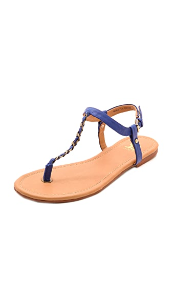 Joe's Jeans Elanor Chain Trim Sandals