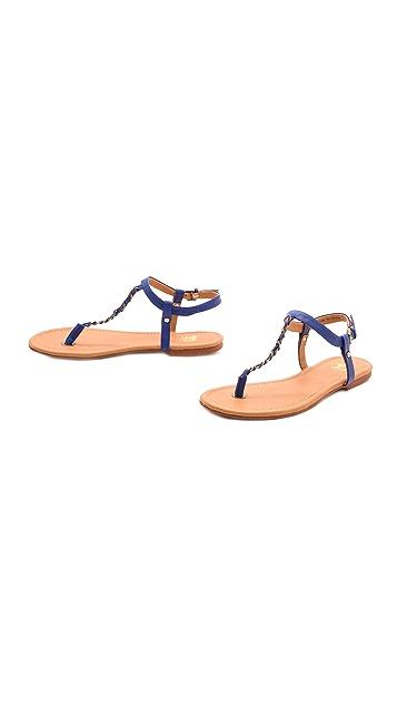 Joe's Jeans Elanor Chain Trim Sandals