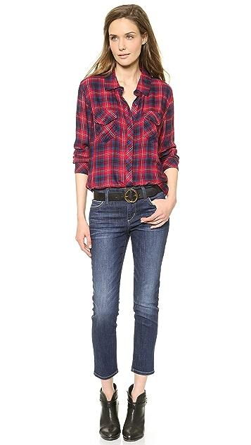 Joe's Jeans Slim Straight Crop Jeans