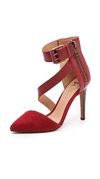 Joe's Jeans Ali Ankle Strap d'Orsay Pumps