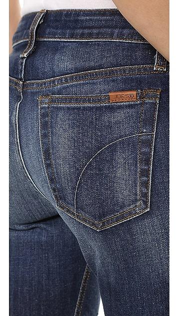 Joe's Jeans Japanese Denim Mid Rise Skinny Jeans