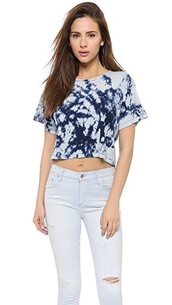 Joe's Jeans Cropped Indigo Tee