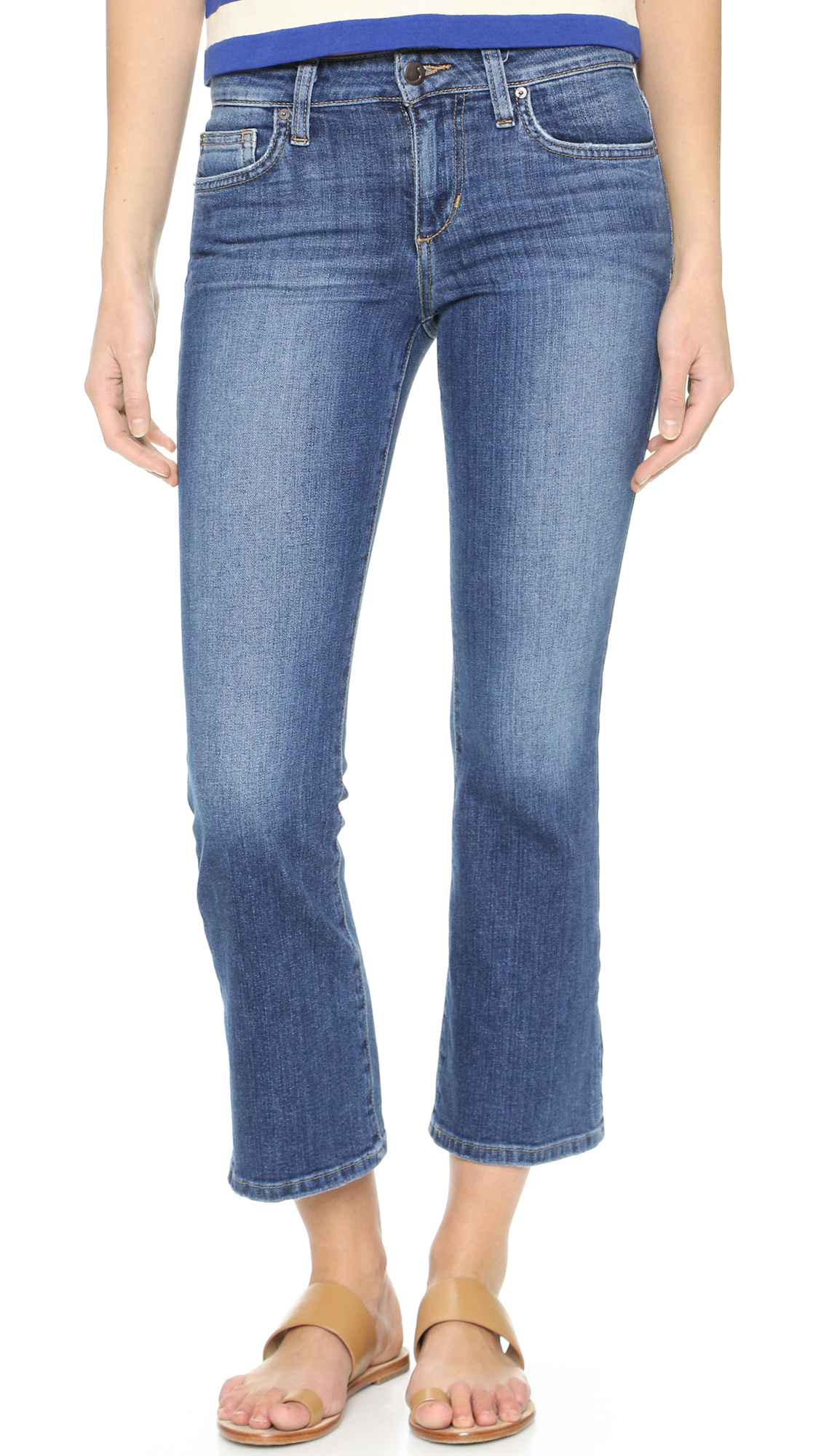 Joe's Jeans The Olivia Cropped Flare Jeans | SHOPBOP